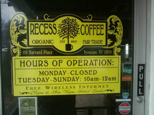 Recess Coffee House & Roastery - 44 Photos - Coffee & Tea ...