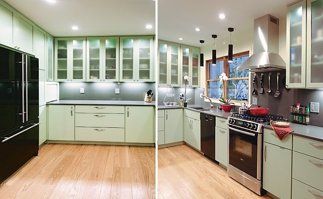 Olive Green Maple Painted Kitchen Cabinets By Dynasty Yelp