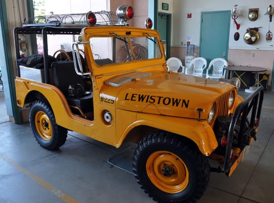 """Used Jeeps Near Me >> A 1952 """"fire jeep"""" used by the forestry service. 