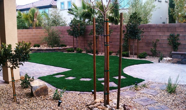 I make this blog: Backyard landscaping ideas with pets