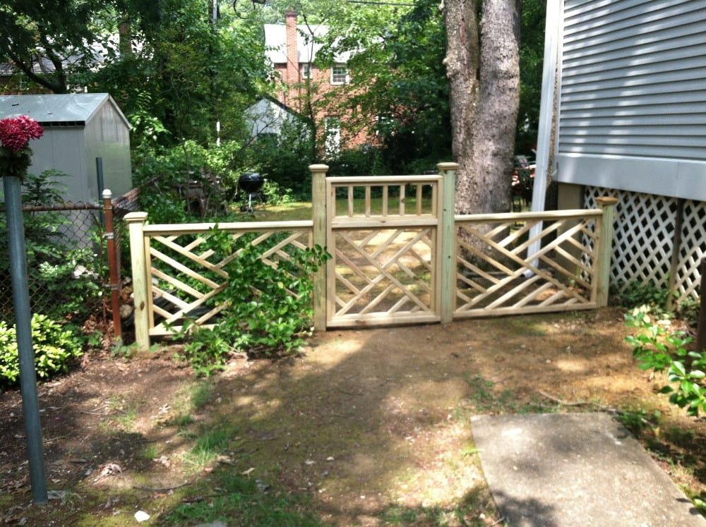 Custom designed Chinese Chippendale fence and gate   Yelp